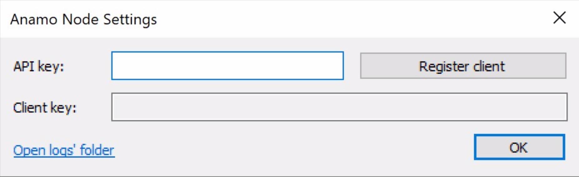 Screenshot of windows installer
